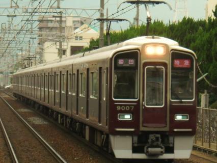 阪急撮影 祇園祭のヘッドマークが輝やく編成を探して・・・武庫之荘編