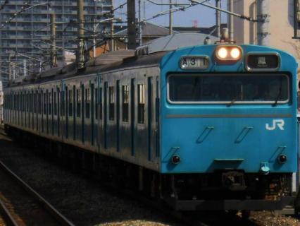 3月21日阪和線更新された205系と減っていく103系を探しに