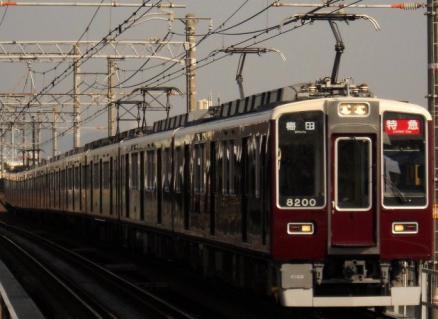 4月4日阪急神戸線に8200系を探しに行ってみるその1