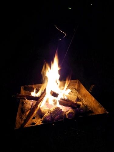 32焚き火