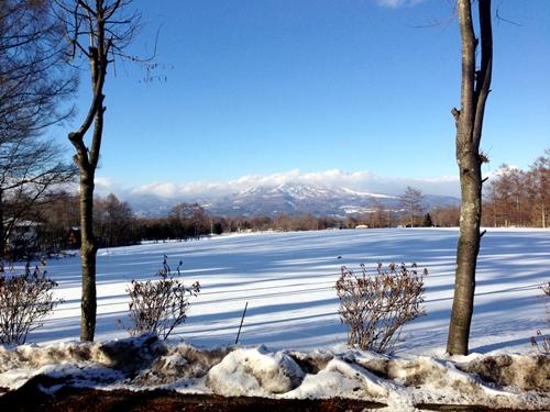41きれいな雪原