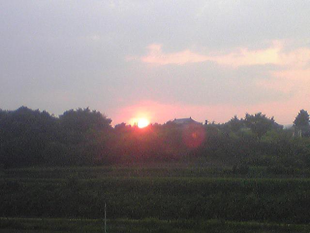 Sunset 20130817