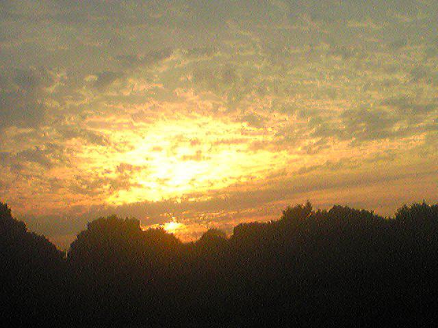Sunset 20131004