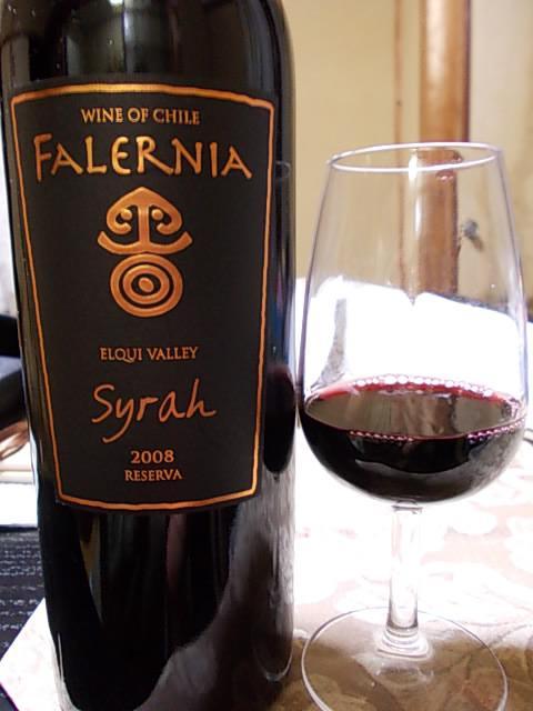 Wine Vina Falernia Syrah Reserva 20131012