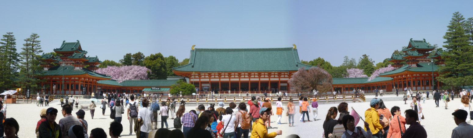 平安神宮合成2