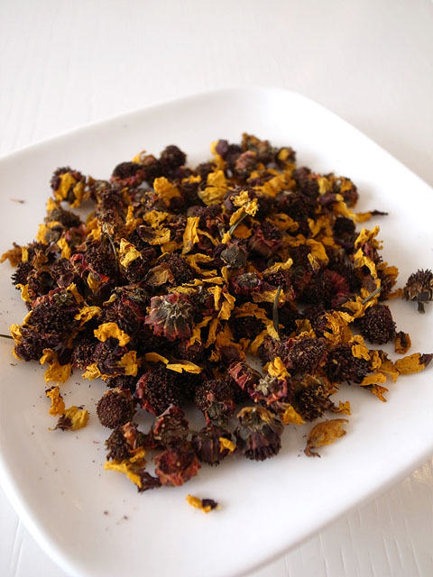 131130香膳-雪菊茶・茶葉