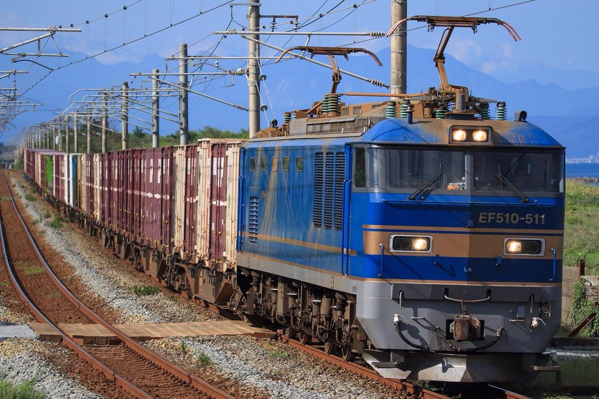 4093レ EF510-511