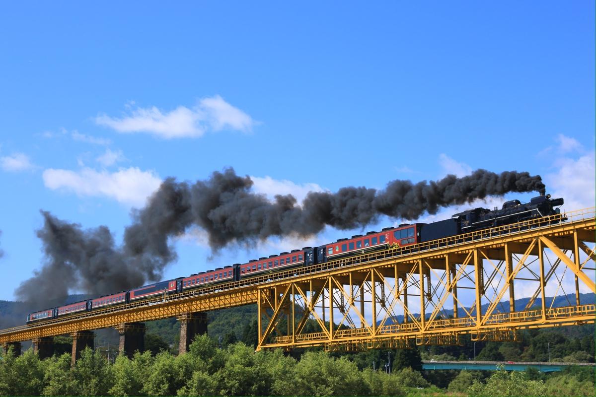 C57 180 一ノ戸川橋梁