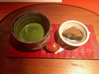 米甘味と抹茶