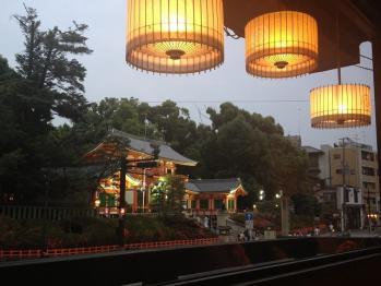 夜 八坂神社