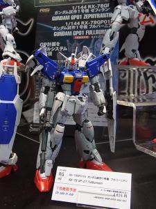 2013 東京おもちゃショー 業者日:バンダイ:ガンプラほか、プラモ系006