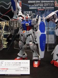 2013 東京おもちゃショー 業者日:バンダイ:ガンプラほか、プラモ系007