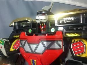 DX大獣神(合体のみ)&PRレッドレンジャー(プレ)009
