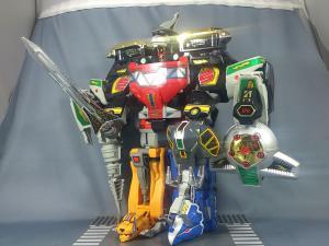 DX大獣神(合体のみ)&PRレッドレンジャー(プレ)010