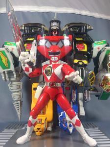 DX大獣神(合体のみ)&PRレッドレンジャー(プレ)011