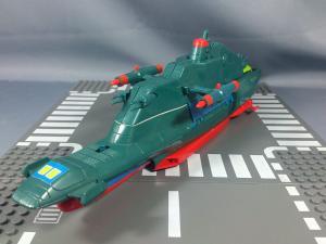 野村トーイ 宇宙空母ブルーノア 合体DX(エンジン部破損)005