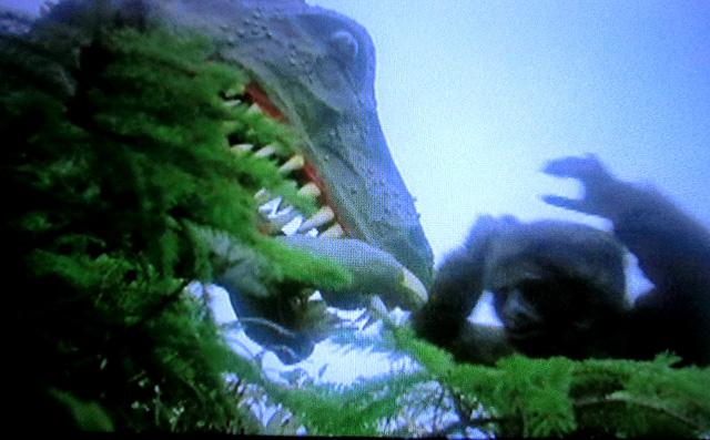 恐竜との死闘