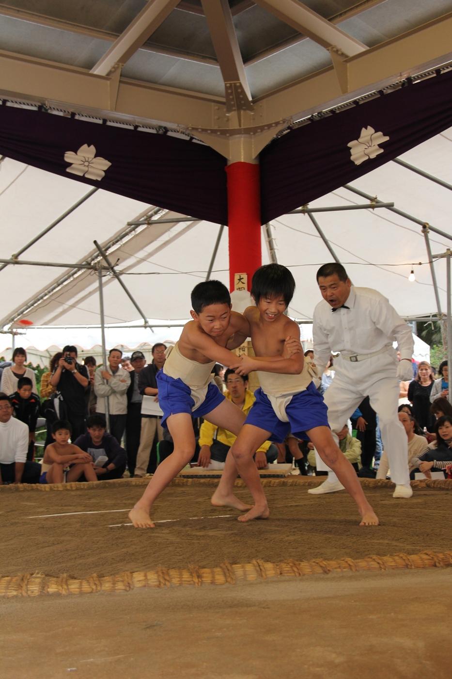 宝達6 蓮華山相撲