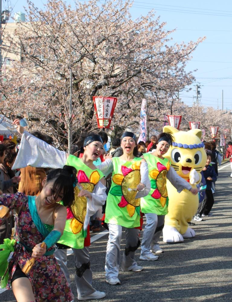 かほく市、かほく四季祭り 桜祭り