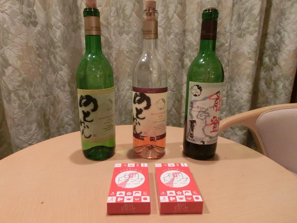能登ワインと石川トランプ