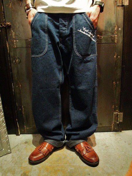 HIPBONE×EVILACT Multi Pocket Painter Pants (1)