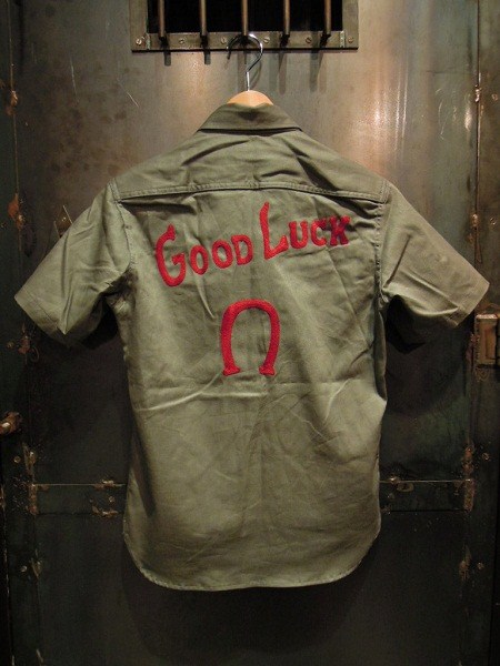 O.C Style GOOD LUCK 2TONE SHIRTS (3)