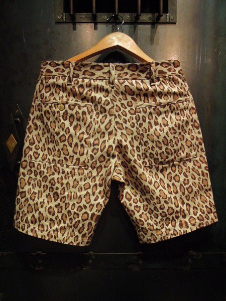 O.C Style GOOD LUCK LEOPARD SHORTS (4)