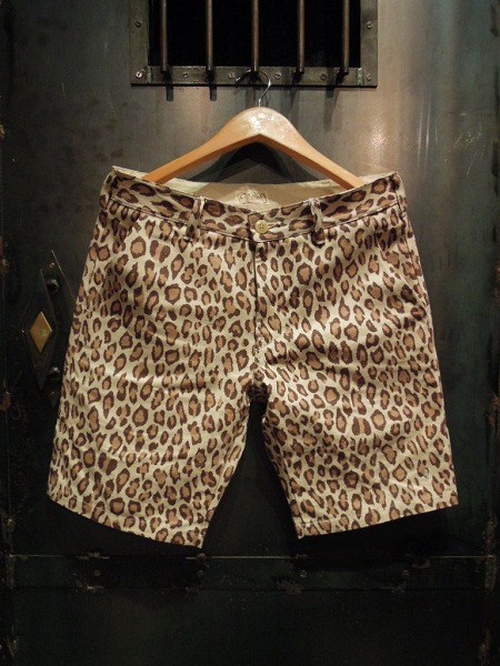 O.C Style GOOD LUCK LEOPARD SHORTS (1)