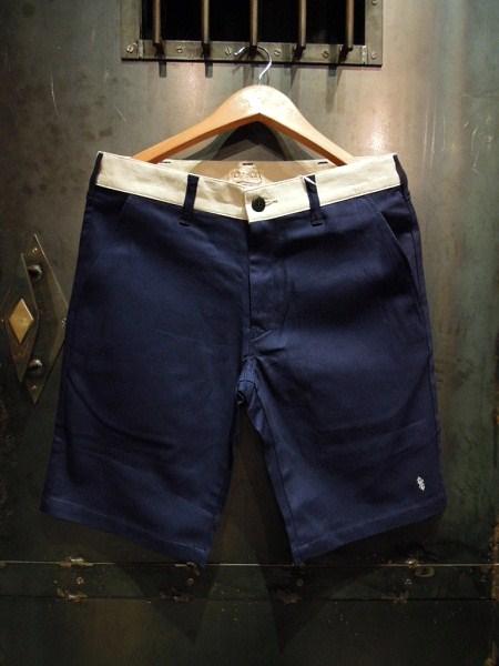 O.C Style GOOD LUCK 2TONE SHORTS (6)