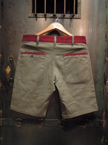 O.C Style GOOD LUCK 2TONE SHORTS (4)