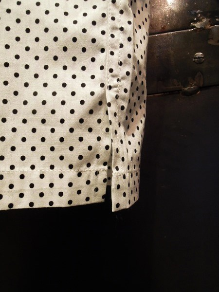 Delinquent Bros CREAP DOT OPEN COLLAR SHIRTS (8)