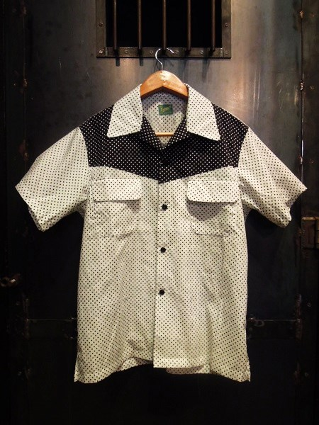 Delinquent Bros CREAP DOT OPEN COLLAR SHIRTS (5)