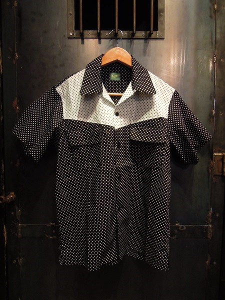 Delinquent Bros CREAP DOT OPEN COLLAR SHIRTS (1)