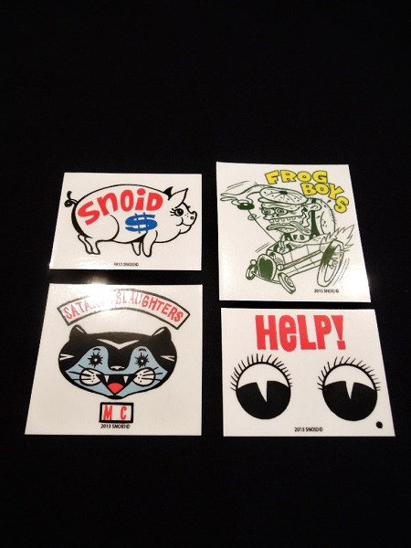 SNOID sticker