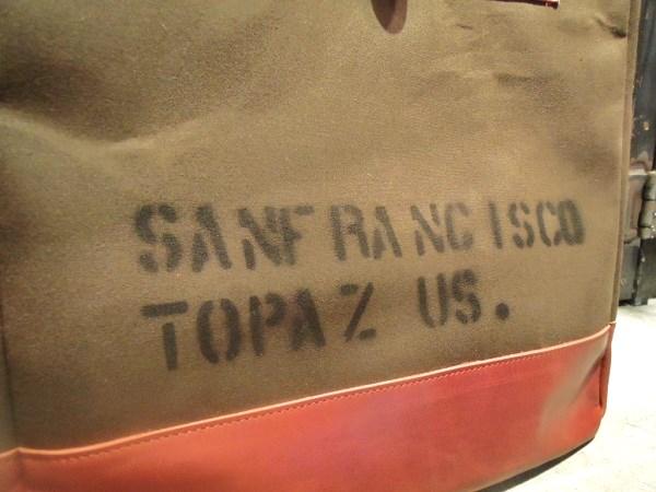 TOPAZ TOTE BAG