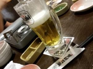 まず乾杯!