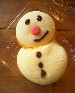 ヒツジのあしあと-雪だるまパン