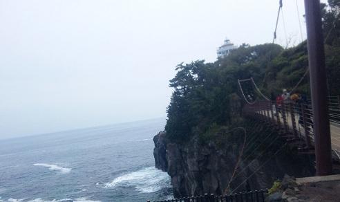 ヒツジのあしあと-城ケ崎海岸