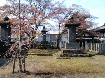 阿弥陀寺の墓所