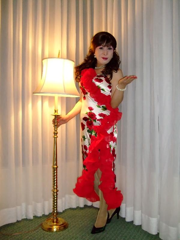 071101赤い花のドレス(1)