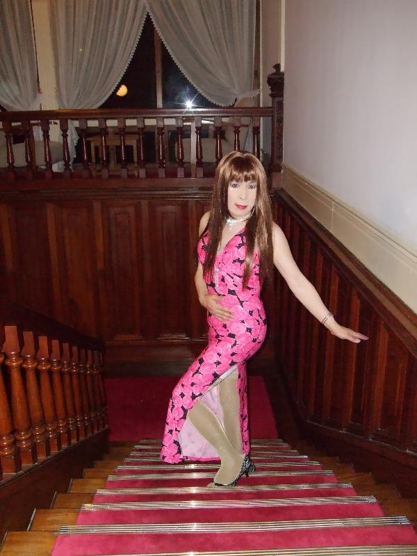 080417薔薇柄のドレス(1)