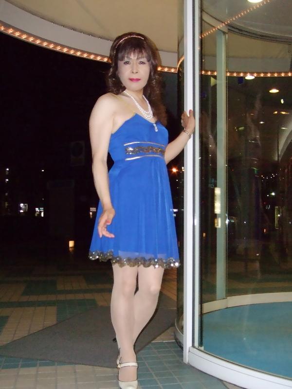 080621青ショートドレス(1)
