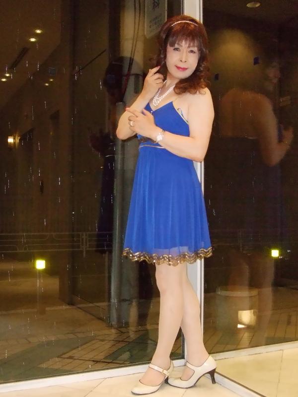 080621青ショートドレス(2)