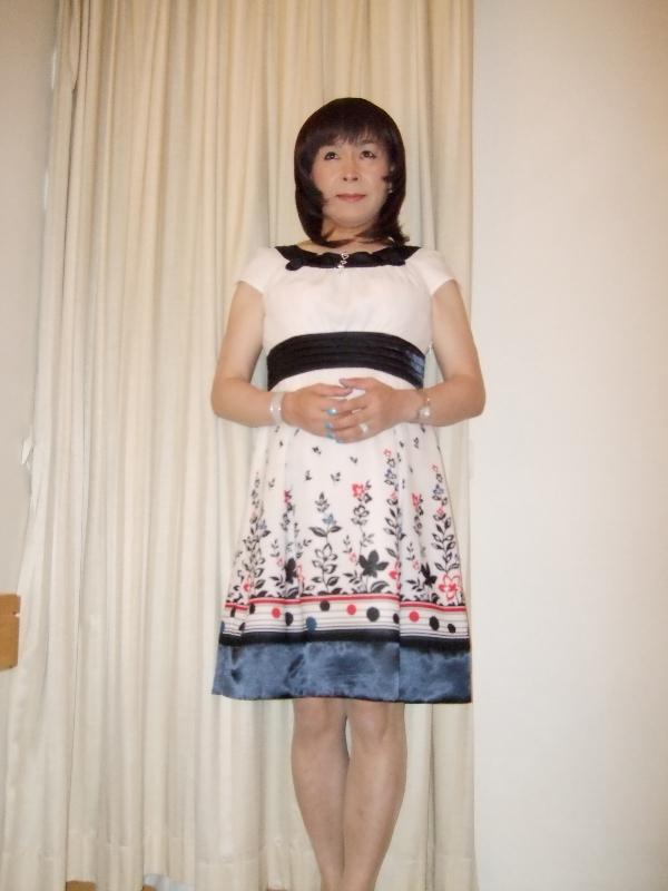 080812花柄ワンピ(2)