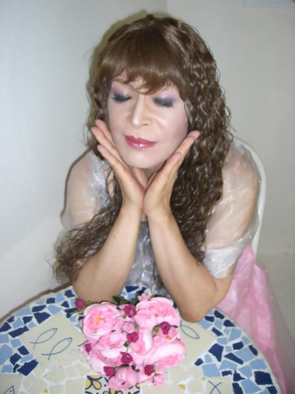070814サファイヤ桃ドレス(2)