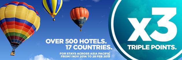アコーホテルアジアポイント3倍