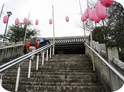多田神社の階段