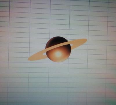 土星を描いてみよう