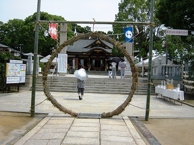 赤穂大石神社・輪越し