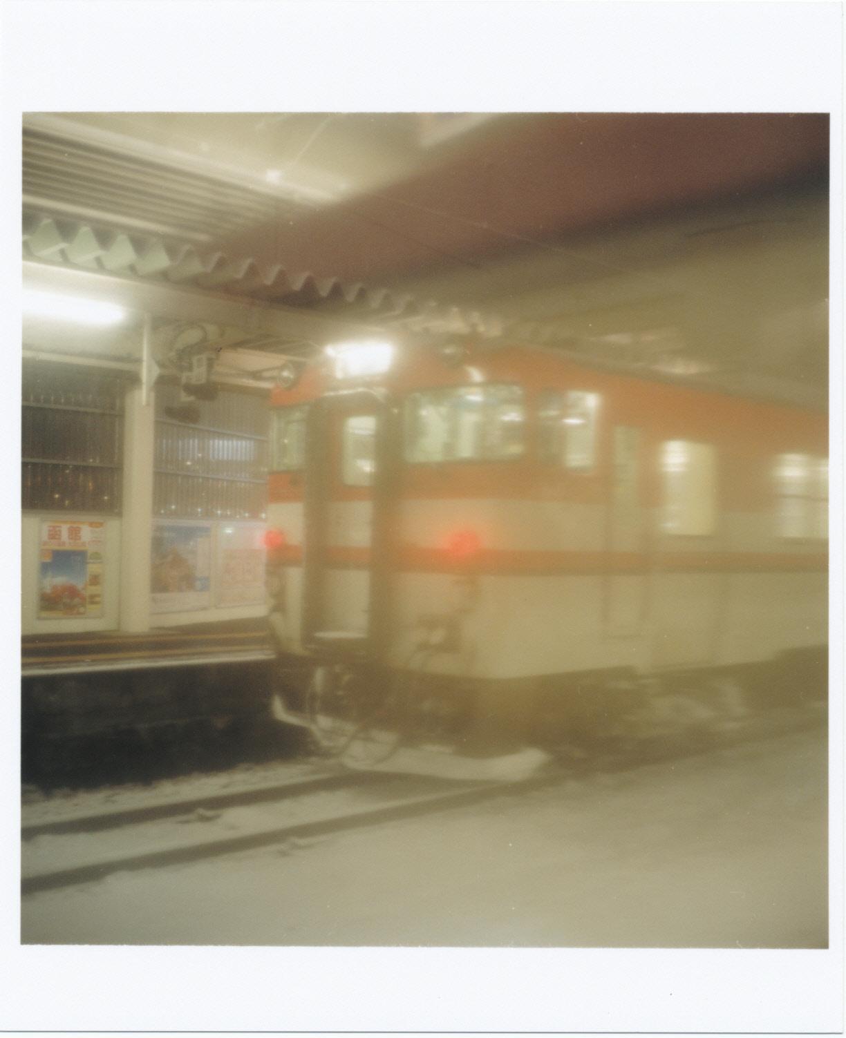 会津から帰る電車